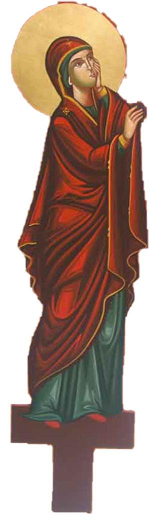 Λυπητερά Αγιογραφία Παναγία (100cm) (295-01) (P)
