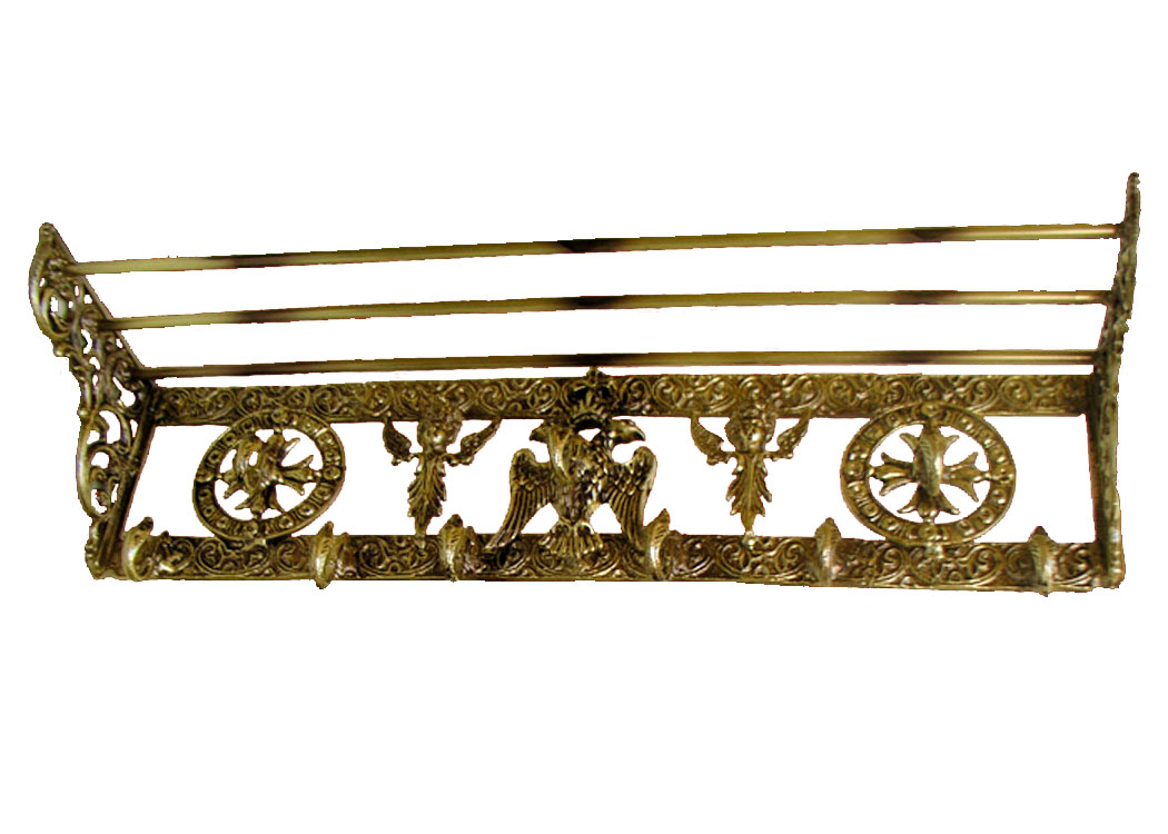 Κρεμάστρα Τοίχου OXAL Πατίνα (176-11)
