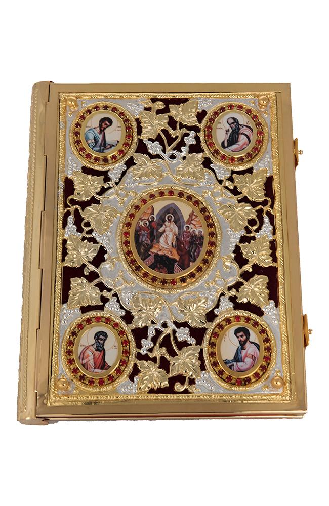 Ευαγγέλιο Βελούδο Α' Πέτρες Δίχρωμο (102-09)