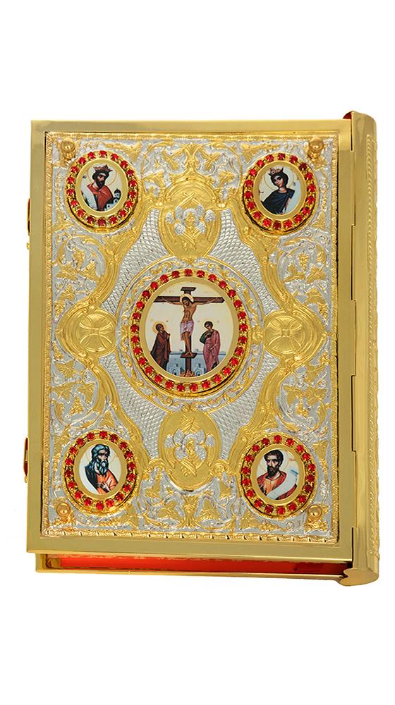 Ευαγγέλιο Μπακλαβωτό Εικόνες Δίχρωμο (102-90)