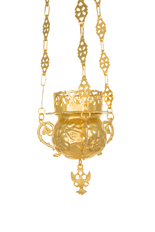 Hanging Vigil Lamp Wreath (111-64)