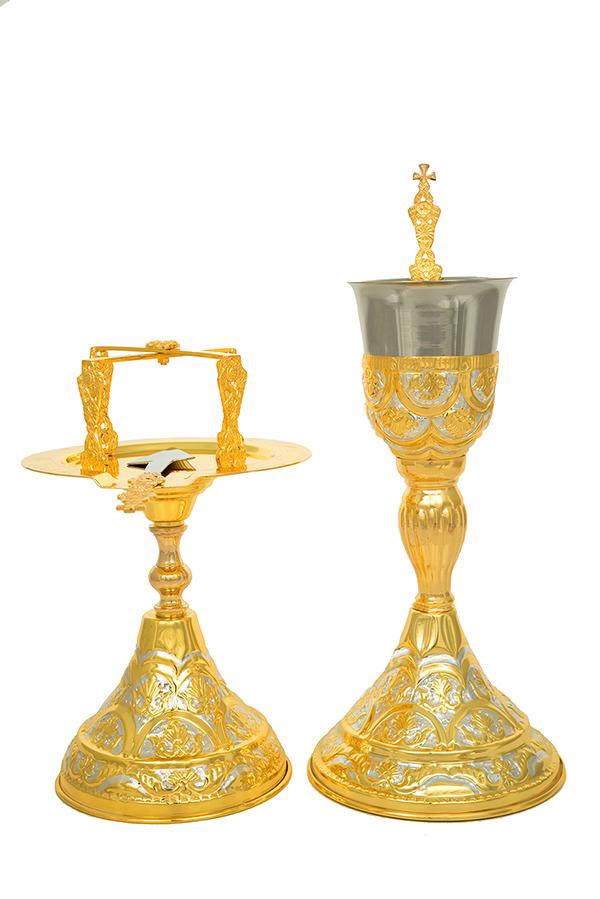 Δισκοπότηρο Ρώσικο Β΄ Δίχρωμο (103-76)