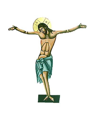 Εσταυρωμένος Αγιογραφία (80cm) (296-03)