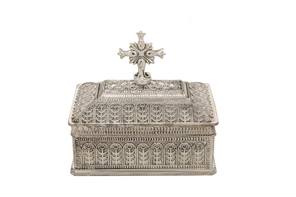 Κουτί Προηγιασμένης Μικρό Επάργυρο (126-31)