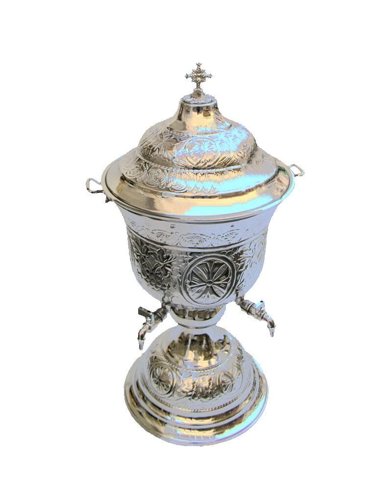 Κολυμβήθρα Αγιασμού Σκαλιστή Α' Χρώμιο (156-02)