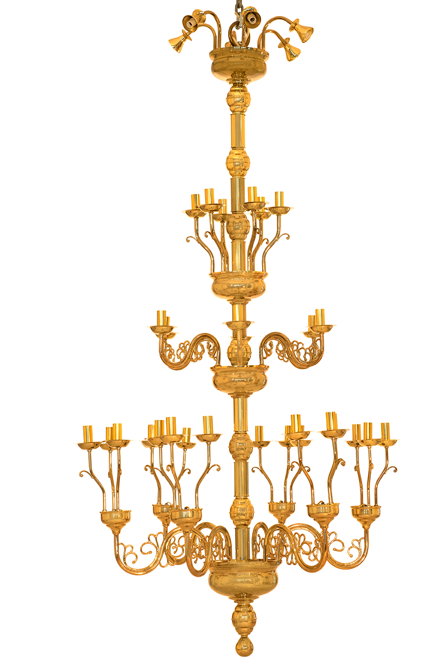 Πολυέλαιος Σωληνωτός Λείος 36Φ (3άδες) (269-06)