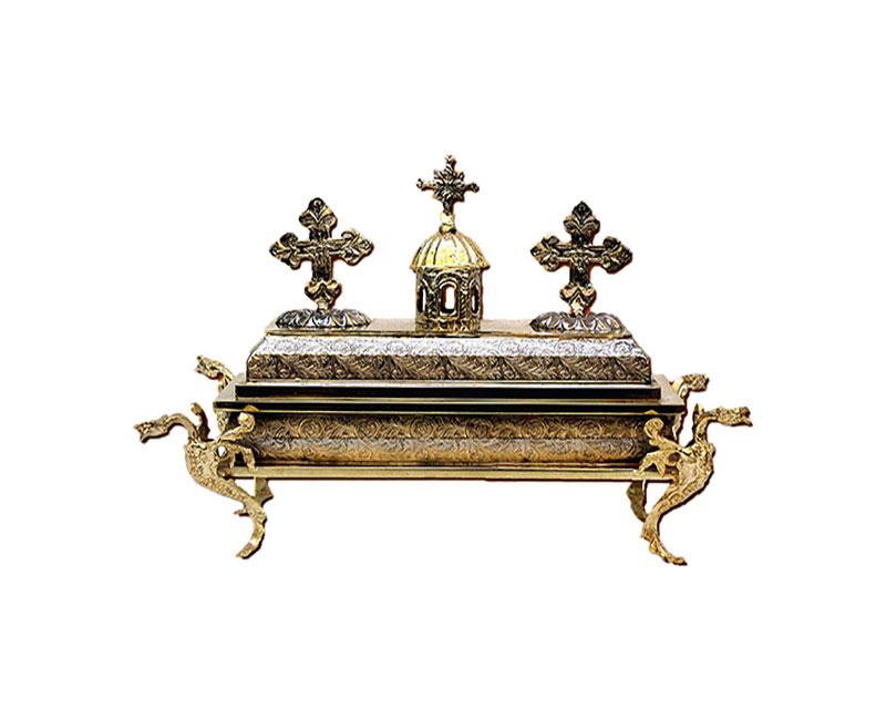 Λειψανοθήκη Ταφάκι Μεγάλη ΑΑ' Δίχρωμη  (126-11)
