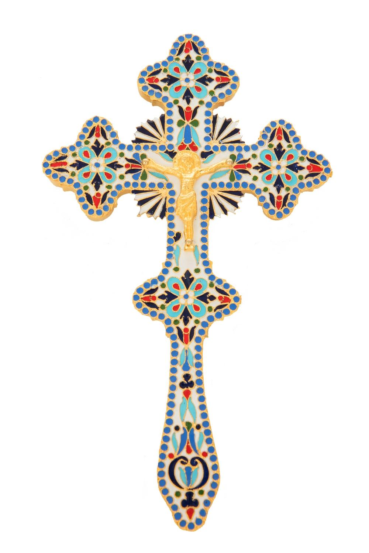 Σταυρός Ευλογίας Σμάλτο Α' (123-03)