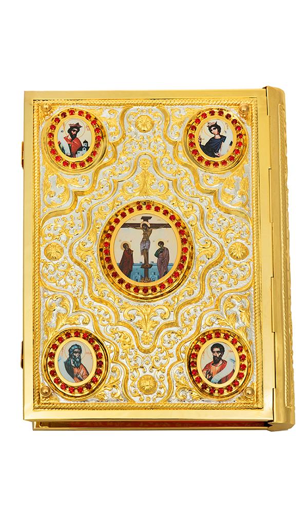 Ευαγγέλιο Φουσκωτό ΑΑ΄ Δίχρωμο (102-94)