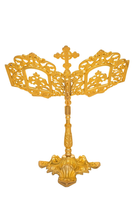 Βάση Ευαγγελίου Αγίας Τραπέζης Ορειχάλκινη (174-06)