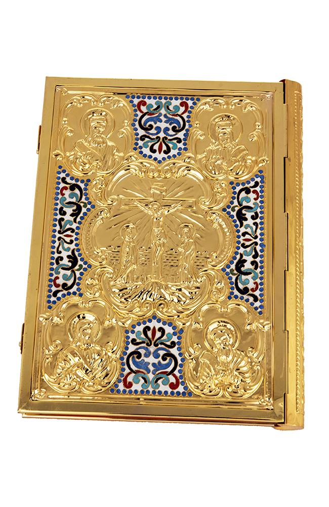 Ευαγγέλιο Σμάλτο Σταυρό Επίχρυσο (102-76 P)