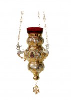 Vigil Lamps Corfu Νο3 Bicolour (Porcelain) (110-53)