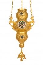 Hanging Vigil Lamp Corfu Enamel Νο 4 (110-09)
