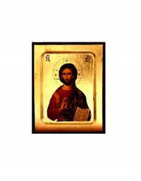 Icon Silkscreen C' in MDF Carved (299-02)