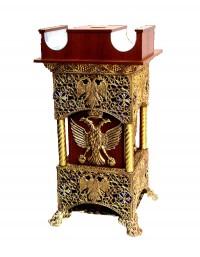 Παγκάρι 1 Καμάρα+Κηροθήκη Πατίνα (208-20)