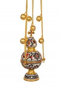 Russian Censer Enamel Α' (107-02P)