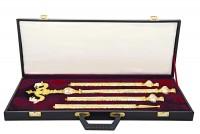 Δεσποτική Ράβδος Σκαλιστή Δίχρωμη & Βαλίτσα (135-01)