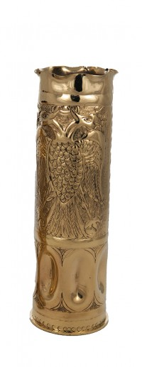 Big Vase Brass A΄(Shell) (159-07)