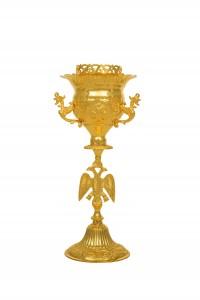Κανδήλα Αγίας Τραπέζης Σκαλιστή Νο2 (113-05)