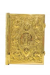Ευαγγέλιο Σκαλιστό Μπακλαβωτό Α΄ Επίχρυσο (102-13G)