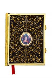 Ευαγγέλιο Βελούδο Χρυσοκέντητo A'  Εικόνα Επίχρυσο (102-75G)