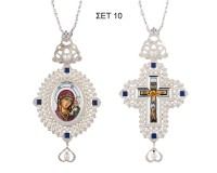 SET Engolpio And Cross Silverplated Silver (925) (ΣΕΤ 10)