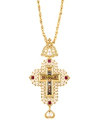 Cross Gold-Plated Silver (925) (ΣΤ10)