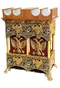 Παγκάρι 2 Καμάρες+Κηροθήκη Πατίνα (208-10)