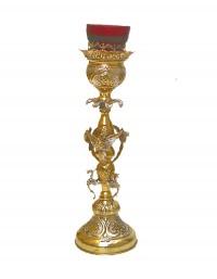 Κανδήλα Αγ.Τραπέζης Δίχρωμη Άγγελοι (113-16)