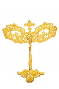 Βάση Ευαγγελίου Αγίας Τραπέζης Α΄ Ορειχάλκινη (174-06)