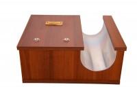 Κηροθήκη Ξύλινη 1 Θέσεως & Κουτί (208-35)