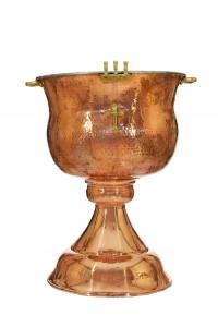 Κολυμβήθρα Βαπτίσεως Χάλκινη (155-04)