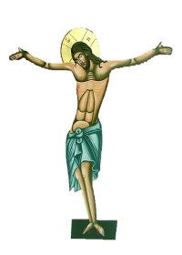 Image of Crucified Christ  100cm (296-02)