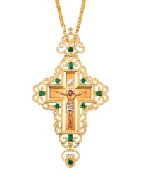 Cross Gold-Plated Silver (925) (ΣΤ06)