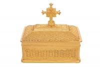Κουτί Προηγιασμένης Μικρό Επίχρυσο (126-32)