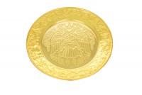 Δίσκος Αντιδώρου - Κερμάτων Σκαλιστός Β΄ Επίχρυσος (129-04)