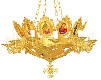 Πολυέλαιος 13Φ Κορνίζες OXAL (229-31)