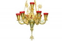 Επτακάνδηλο Αγίας Τραπέζης Νέο Δίχρωμο (258-06)