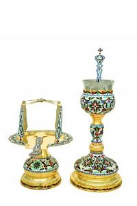 Δισκοπότηρο Βυζαντινό Σμάλτο Β' (103-02)