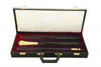 Μπαστούνι Σκαλιστό Σπαστό Δίχρωμο (135-13DSP) + Βαλίτσα
