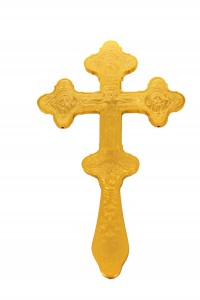 Blessing Crosses Engraved Hollow Α'   (123-04)
