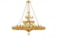 Chandeliers Brazen 4F Vigil Lamps (270-51)