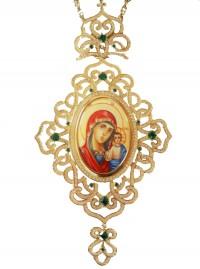 Εγκόλπιο Επίχρυσο Ασημένιο (925) Μεγάλο (ΕΓΚ04)