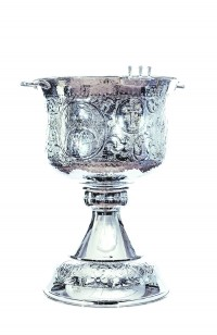 Κολυμβήθρα Βαπτίσεως Σκαλιστή Χρώμιο (155-15)