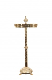 Μανουάλι Ορειχάλκινο Ταψί & Τρέσσα Σταυροί Φ50 (170-31)