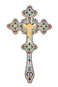 Blessing Crosses Enamel Α' (123-03)