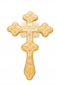 Σταυρός Ευλογίας ΑΑ' Δίχρωμος  (123-21)