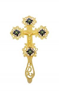 Σταυρός Ευλογίας Χυτός Σμάλτα (123-07SM)
