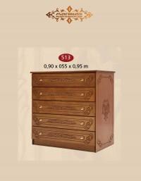 Επιπλοσύνθεση Συρταριέρα Μ513