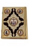 Ευαγγέλιο Φουσκωτό Βελούδο ΑΑ' Δίχρωμο (102-95)